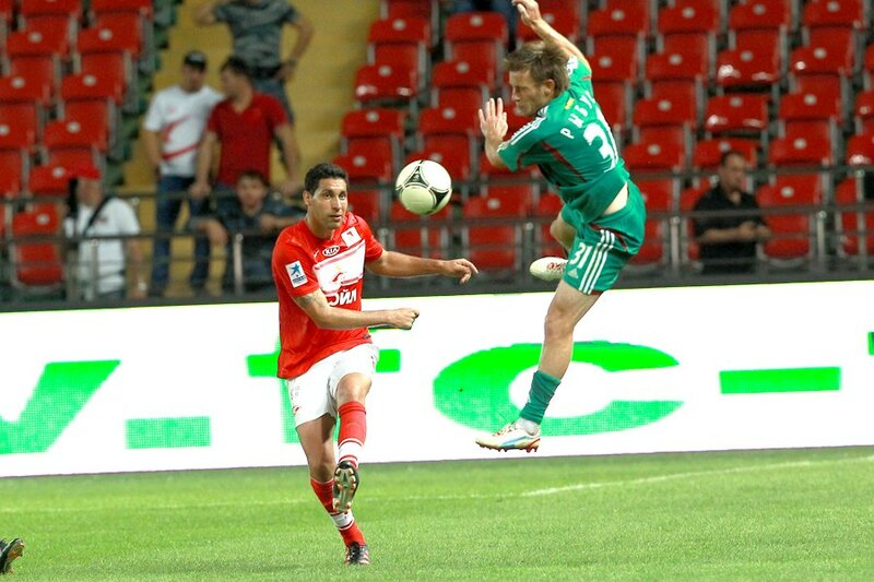 «Терек» vs «Спартак» 2:1 Премьер-лига 2012-2013 (Фото)