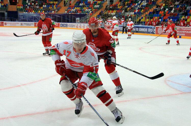 «Спартак» vs «Витязь» 3:2 ОТ Кубок мэра 2012 (Фото)