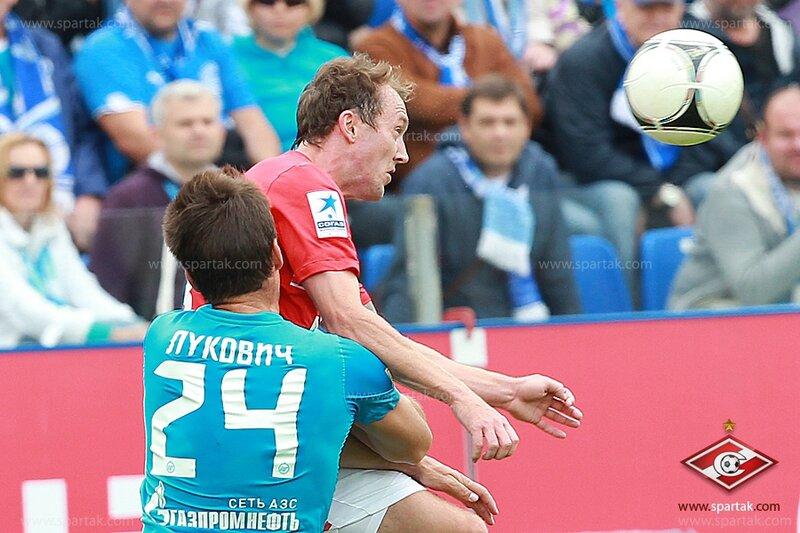 «Зенит» vs «Спартак» 5:0 Премьер-лига 2012-2013 (Фото)