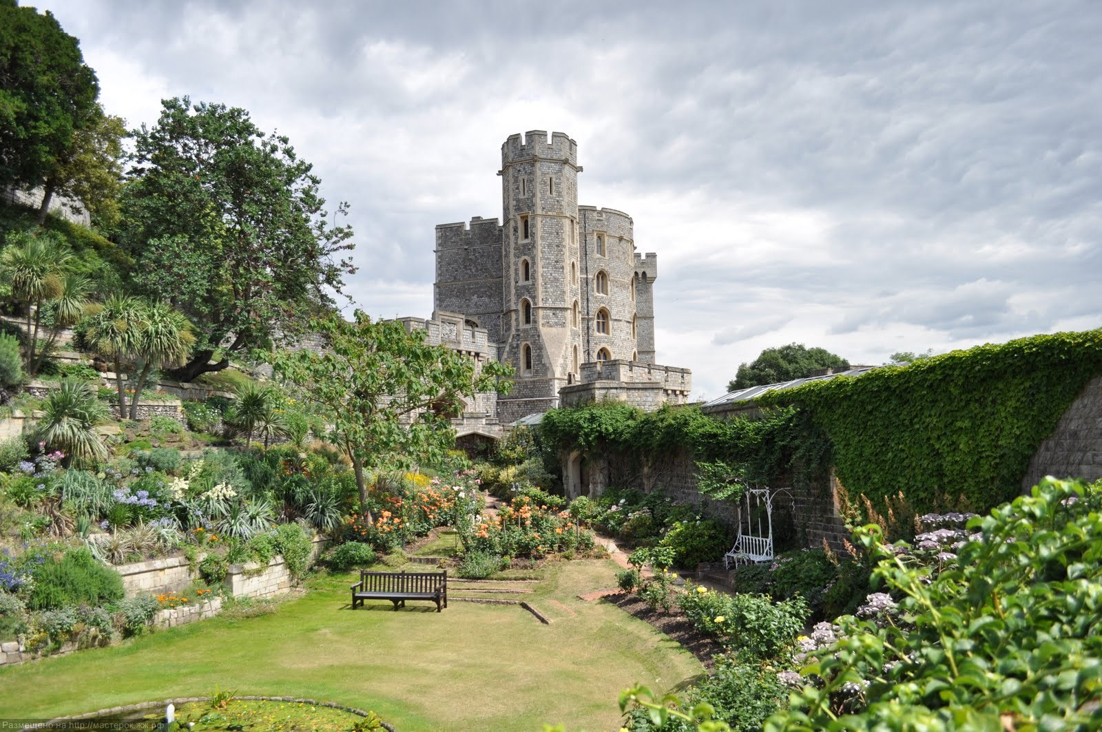 A picture of windsor castle