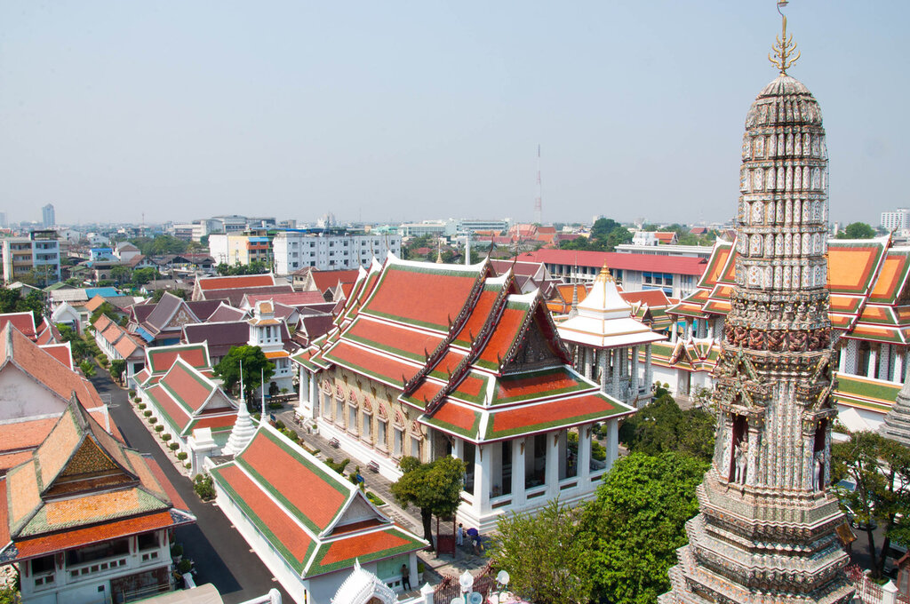 Бангкок, Тайланд, Храм Восходящей зари
