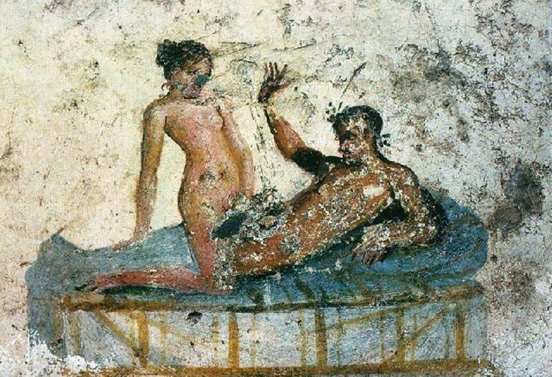 О сексуальной атмосфере в Древнем Риме, где не существовало никаких запрето