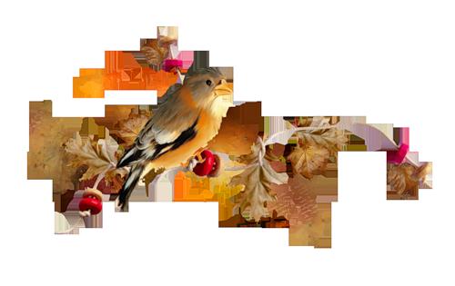 Осень - разделители для текста