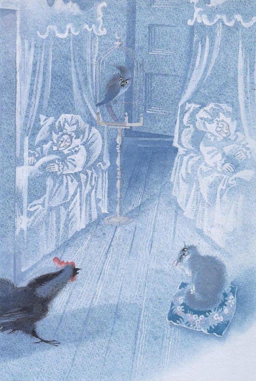 Иллюстрации к черной курице или подземные жители погорельского