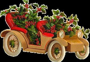 рождественский автомобиль