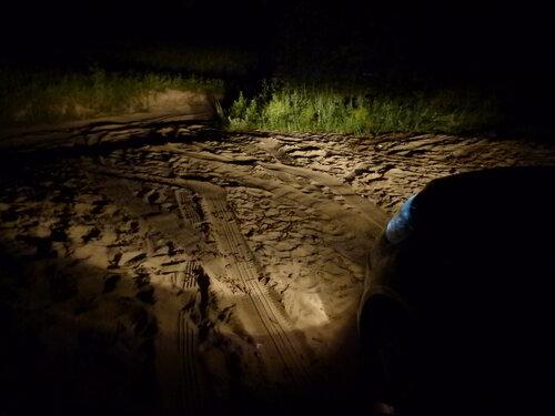 Audi Q7 песок не помеха