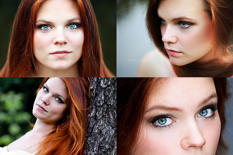 Как сделать глаза побольше в фотошоп