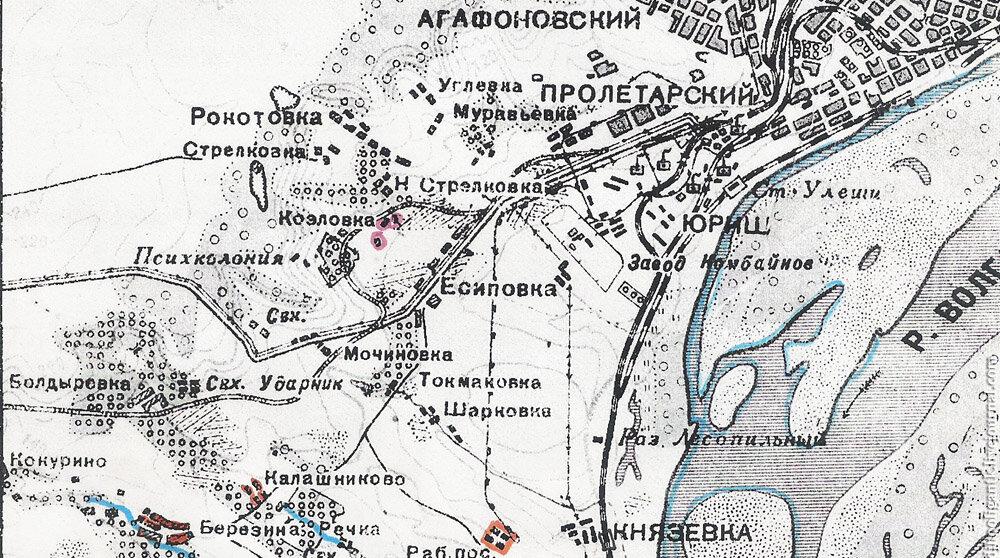 Это карта 1940 года,