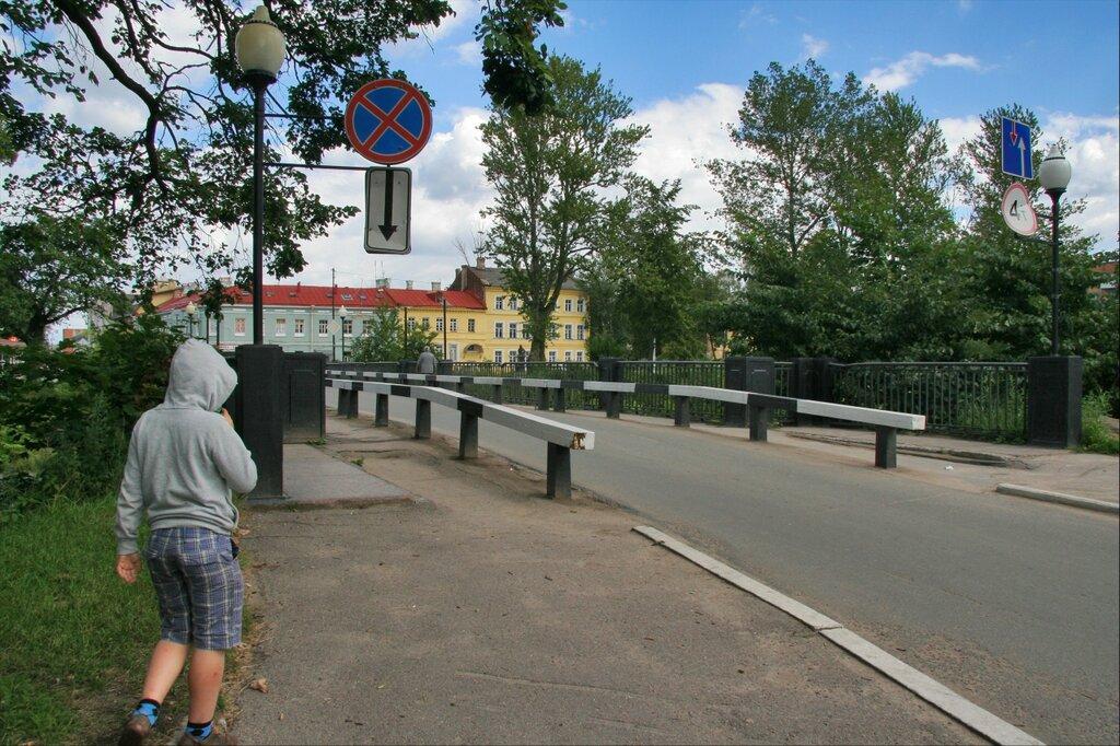 Шлиссельбург, Петровский мост