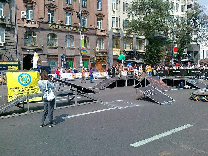 День Незалежности 2012 на Крещатике