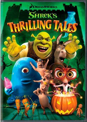 Захватывающие Рассказы Шрекa / Shrek's Thrilling Tales (2012/DVDRip)