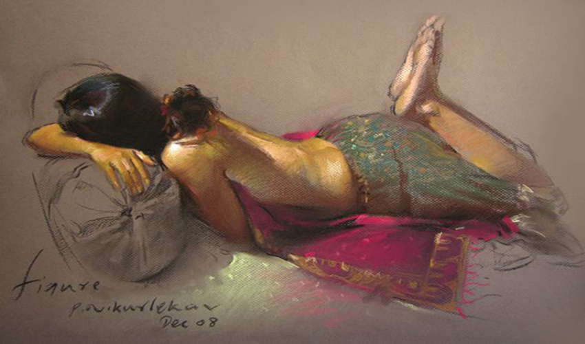 Figurative Art by Pramod Kurlekar