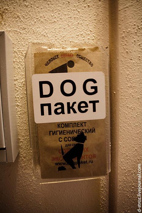dog пакет