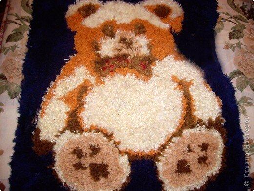 Мастер-класс Вышивка ковровая Коврик Шерсть фото 1.