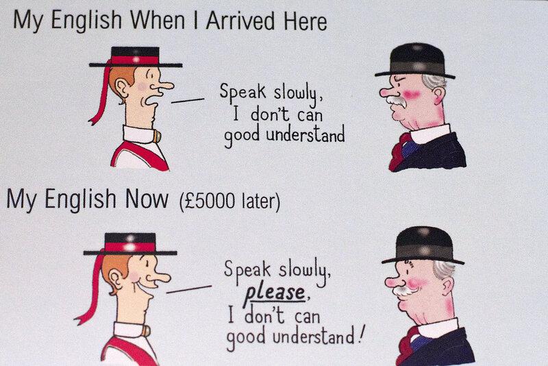 Юмор на английском в картинках