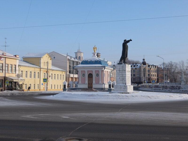Томск - Площадь Ленина