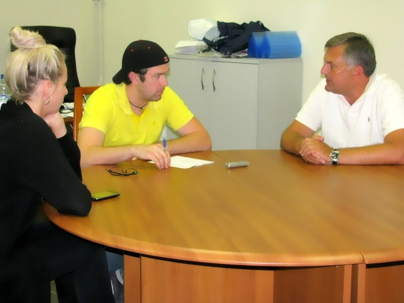 Встреча болельщиков с руководством клуба.