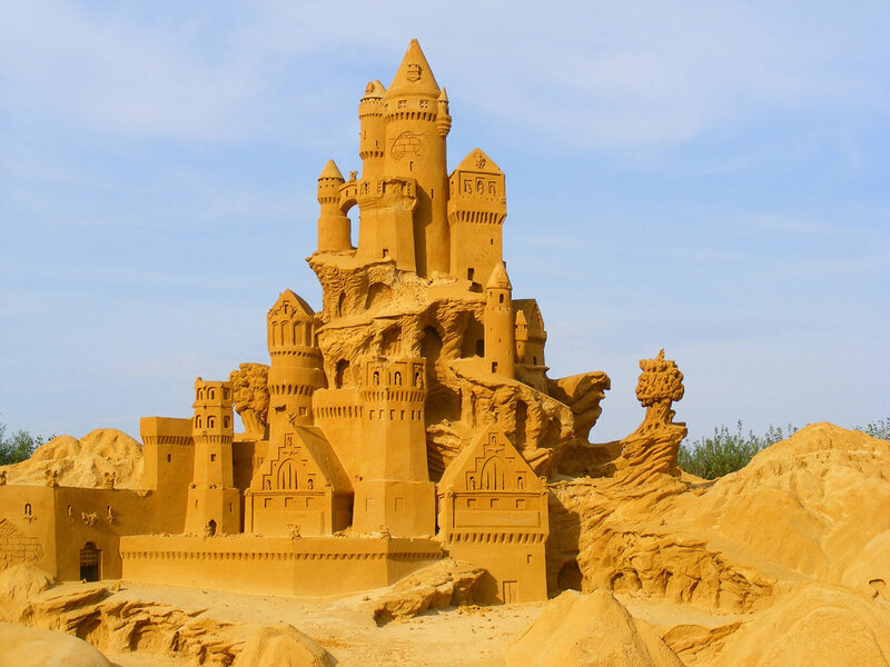 20 восхитительных песчаных скульптур