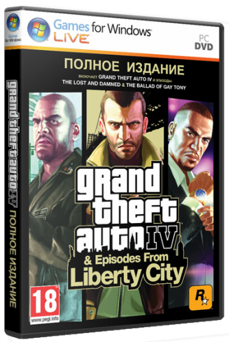 GTA 4 / Grand Theft Auto IV - Complete Edition [v 1061-1101] (2010/PC/Лицензия)