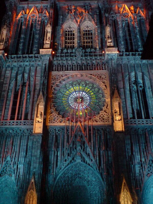 Страсбургский собор. Франция