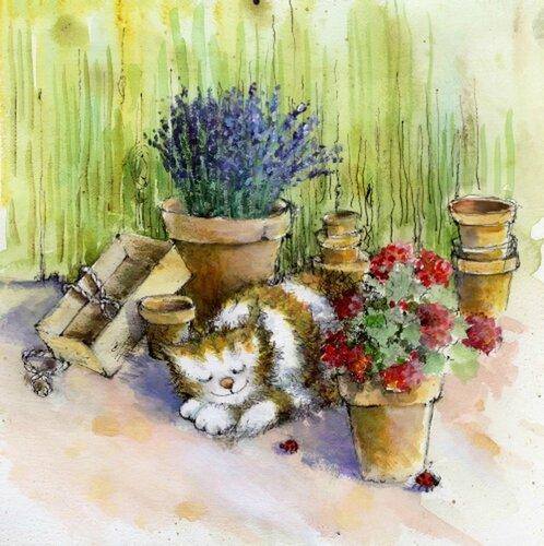 Иллюстрации английского художника-иллюстратора Jan Pashley 13038
