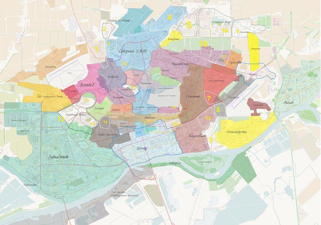 Как карта города. Северный