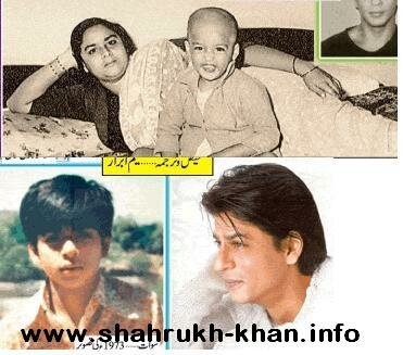Shahrukh Khan's mother Fatima Khan & SRK