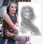 шарж-портрет за 3 минуты