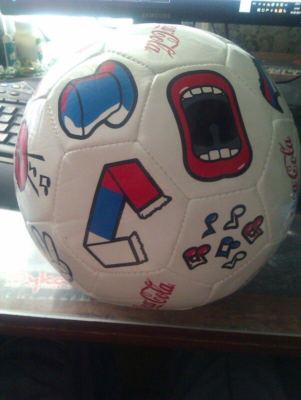 мячик Coca-Cola