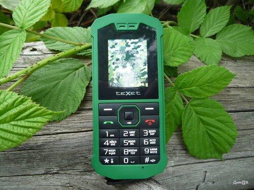 Texet TM-509R (лицевая сторона)