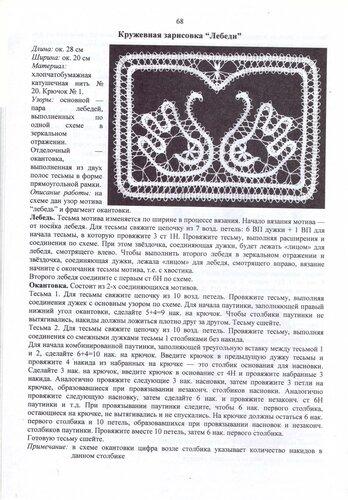 Вязание крючком по мотивам русского кружева