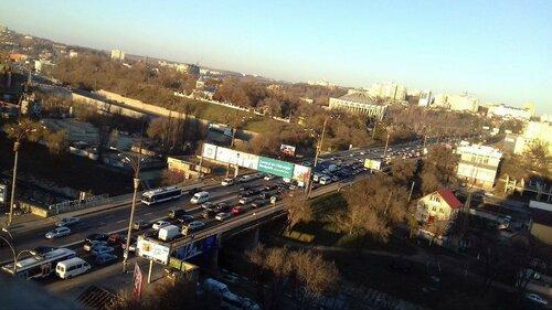Цепное ДТП в Кишинёве - столкнулись 6 автомобилей