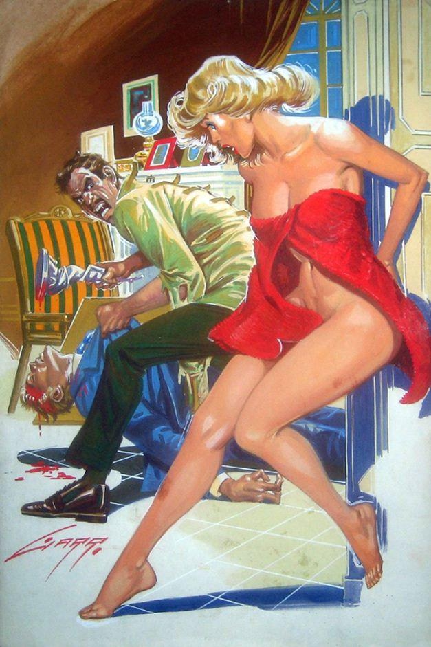 Горячие женщины - Рисунки художника Рафаэля Галлура / Rafael Gallur pictures -
