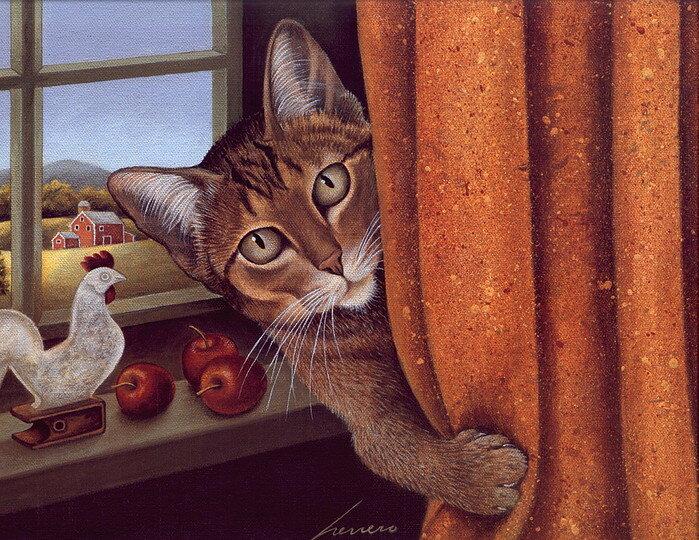 Коты бывают разные: