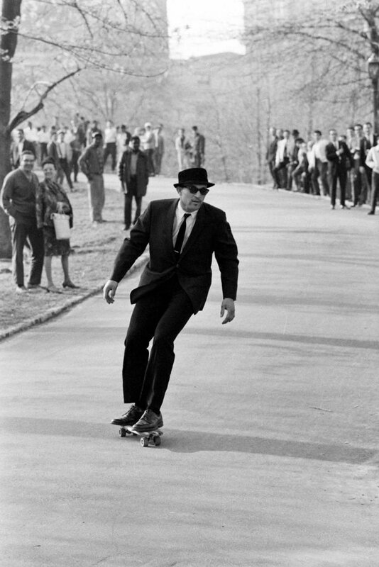 Skateboarding in Central Park, New York, 1965 - Photo by Bill Eppridge