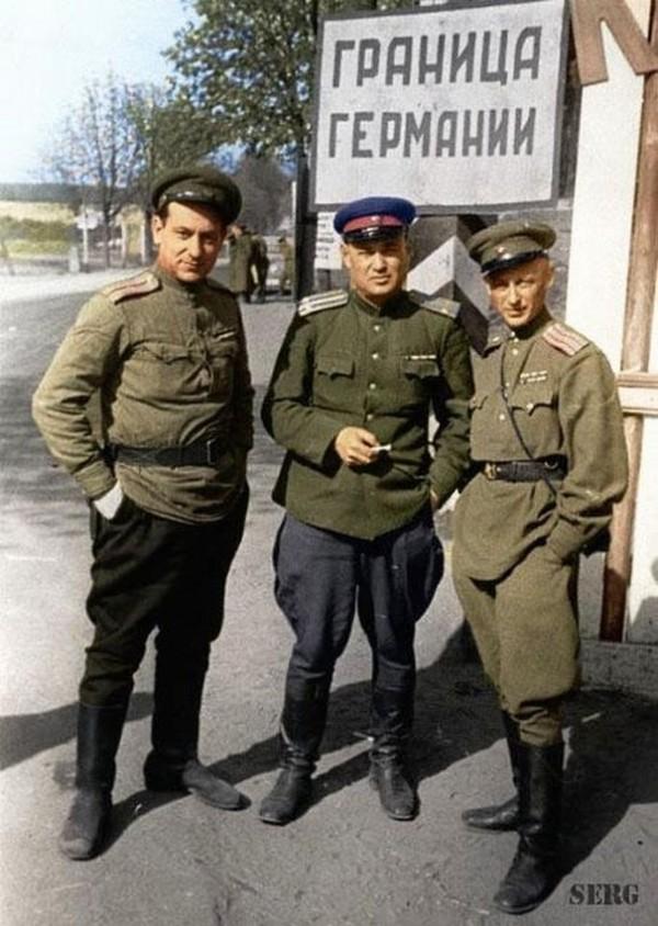 Великой отечественной войны в цвете