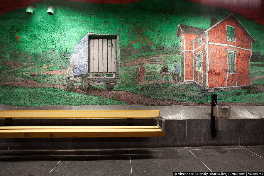 Знаменитое стокгольмское метро (фото и видео)   STENA.ee: http://www.stena.ee/blog/znamenitoe-stokgolmskoe-metro-foto-i-video