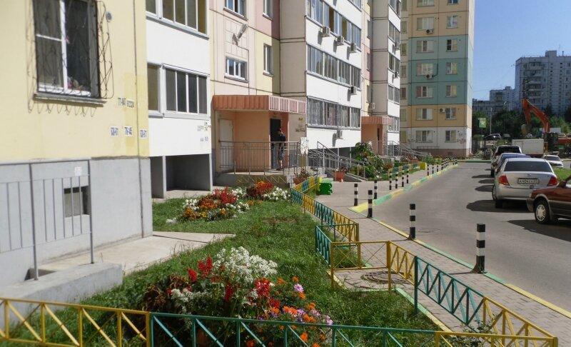Фото дворов многоквартирных домов