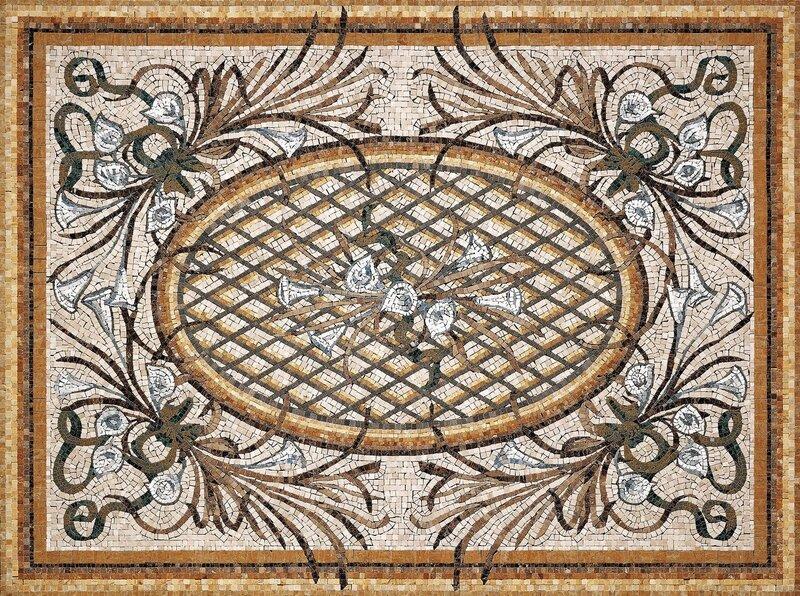 Дары Византии - галерея работ, работы фасада, ландшафт, изготовление мозаики, панно из мозаики, стеклянная мозаика...