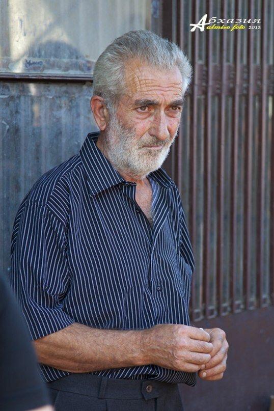 Житель Абхазии