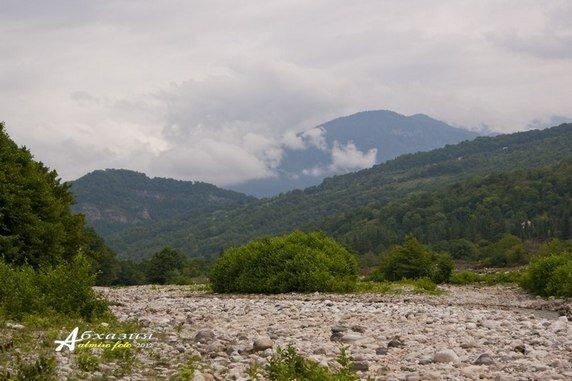 Вид на армянский угол Абхазии