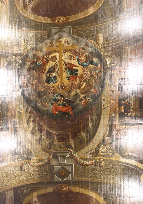 Church of St. Roch (Igreja de São Roque), Lisbon, потолок