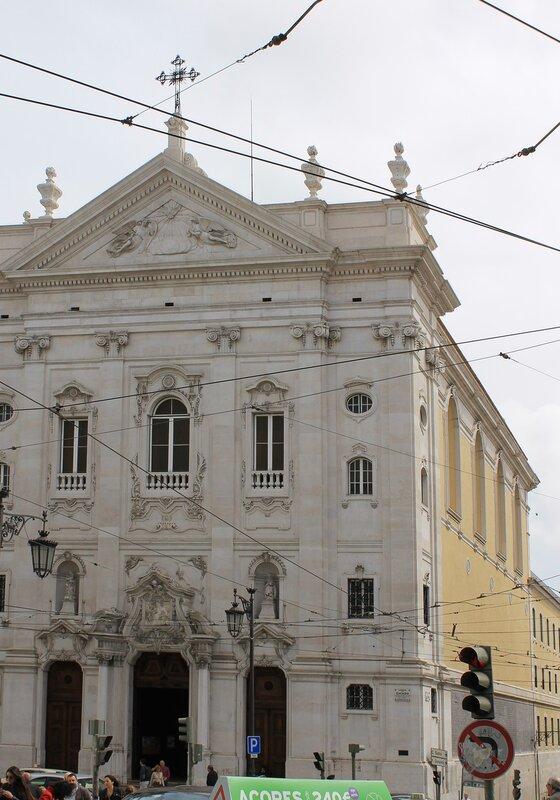 Lisbon. Район Байру-Алту, Lisboa, Bairro Alto, Igreja Da Nossa Senhora Da Encarnação