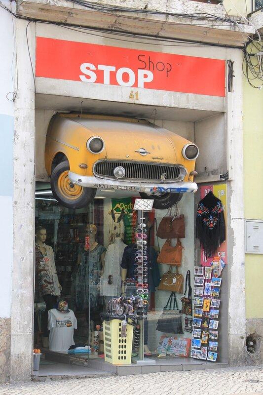 Лиссабон. Район Байру-Алту. Lisboa, Bairro Alto