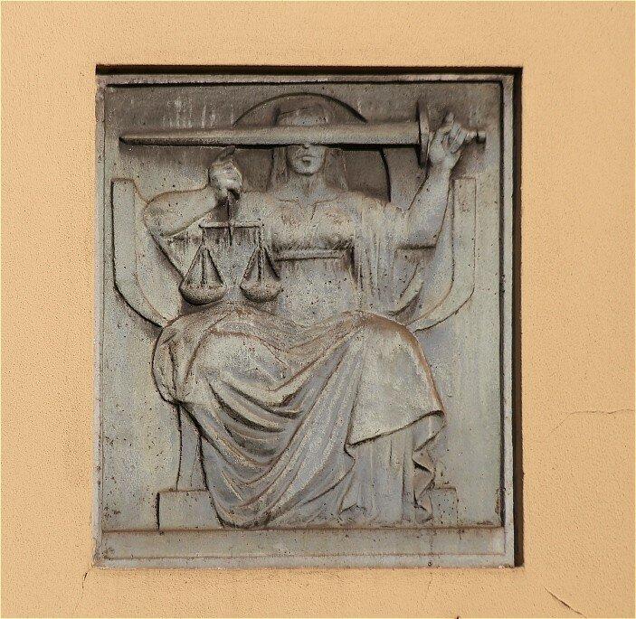 Leiria. The old courthouse. Branch of the Socialist party (Partido Socialista)