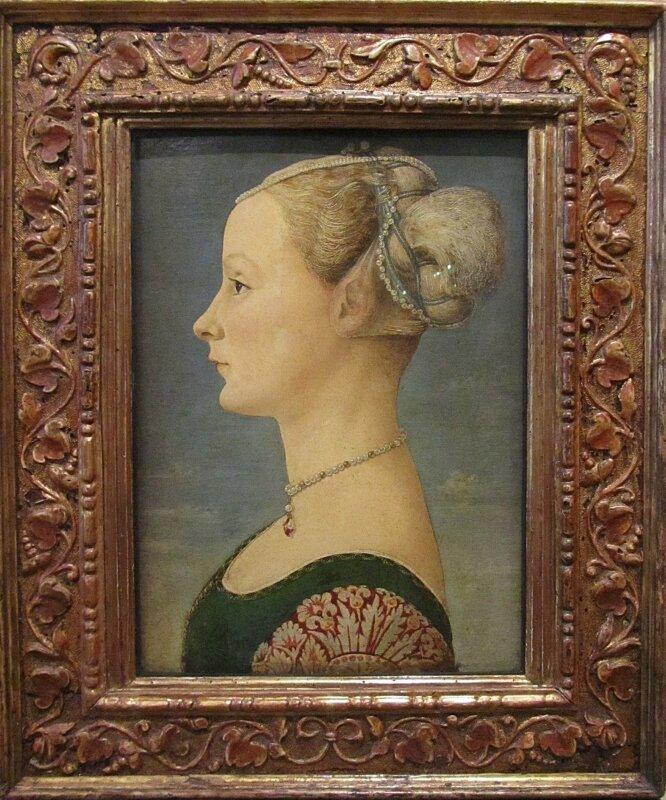 Антонио Поллайоло. Женский портрет