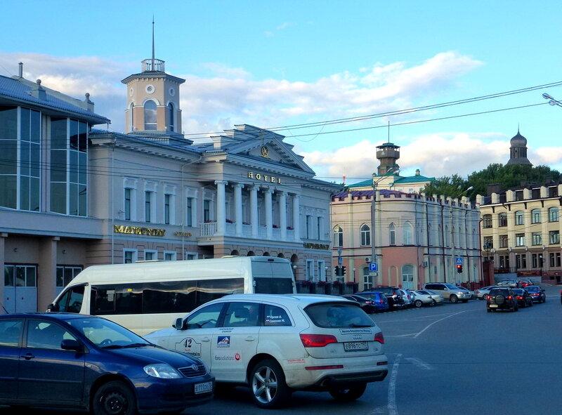 Архитектура Томска: центральная площадь
