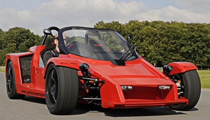 Спортивный автомобиль Jetstream SC250 разрабатывался специально для тех, кто любит погонять на траке