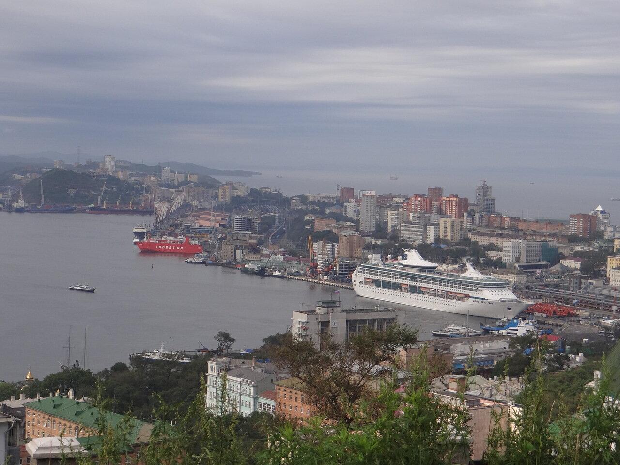 Владивосток. Панорама. Vladivostok, view of the city. 符拉迪沃斯托克,觀看城市風景。
