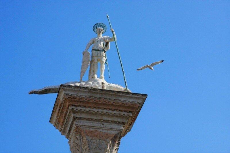 Чайка над Святым Теодором